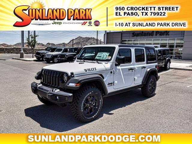 New 2020 Jeep Wrangler Willys Sport Utility In El Paso Lw325602 Sunland Park Chrysler Dodge Jeep Ram