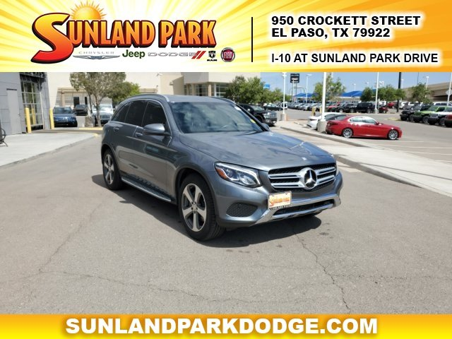 Mercedes El Paso >> Pre Owned 2017 Mercedes Benz Glc Glc 300 Awd 4matic