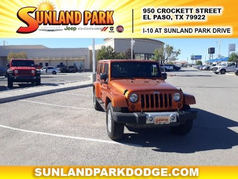 Pre-Owned 2011 Jeep Wrangler Unlimited Unlimited Sahara